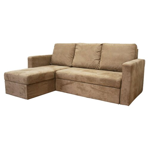 Baxton Studio Linden Sleeper Sectional