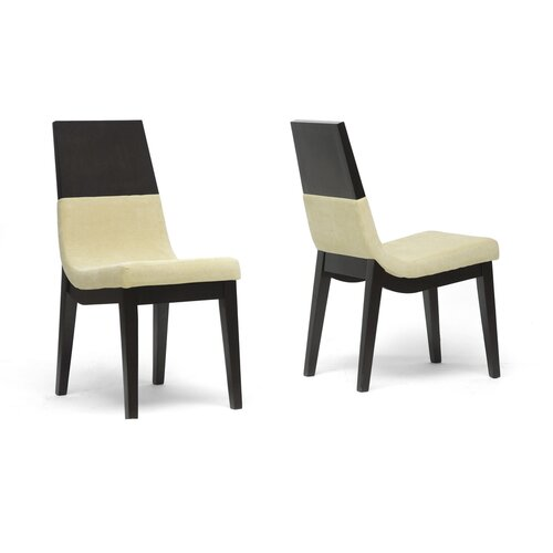 Baxton Studio Prezna Side Chair (Set of 2)