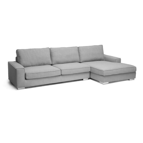 Baxton Studio Brigitte Sectional