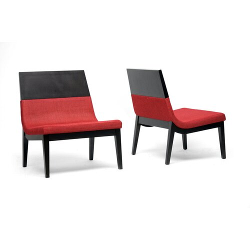 Baxton Studio Prezna Modern Side Chair (Set of 2)