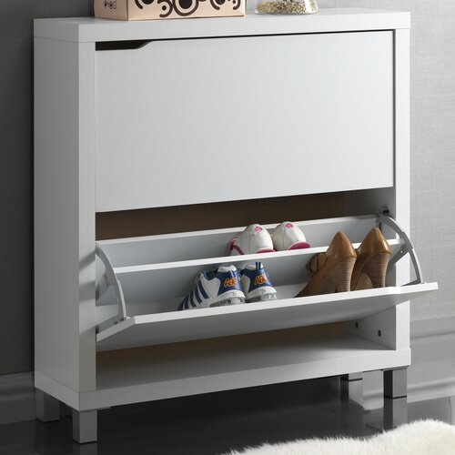 wholesale interiors baxton studio simms shoe cabinet ii