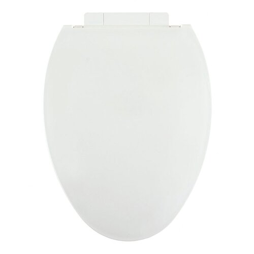 Plastic Slow-Close Elongated Toilet Seat