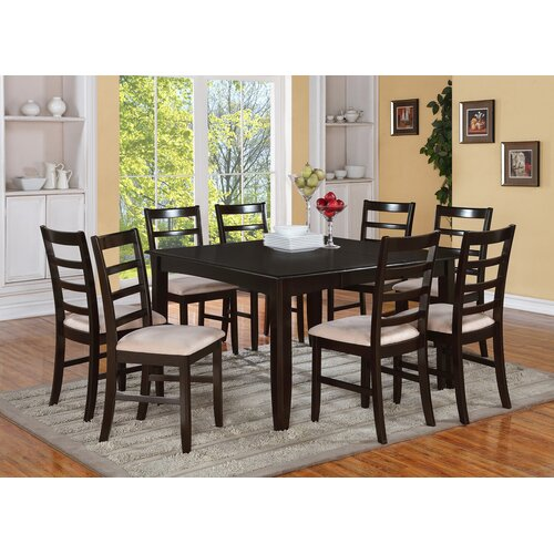 East West Furniture Fairwinds 9 Piece Dining Set