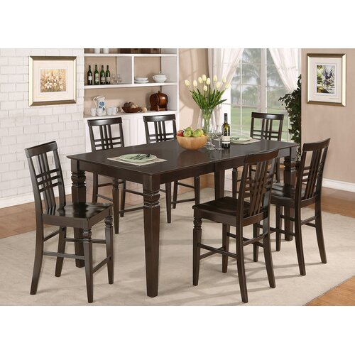 WOIM Logan 9 Piece Counter Height Dining Set Reviews