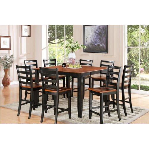 WOIM Fairwinds Counter Height Extendable Dining Table & Reviews ...