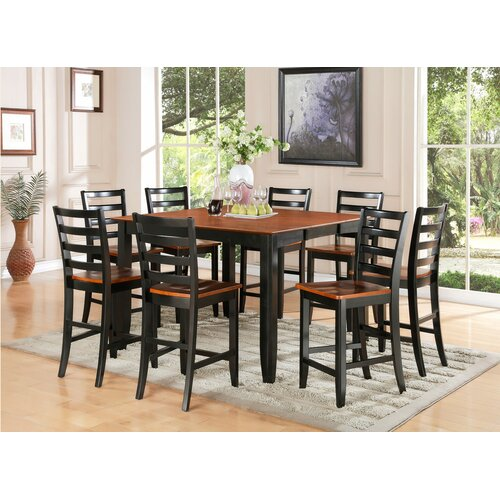 Parfait 9 Piece Counter Height Dining Set