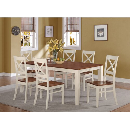 Wooden Importers Avon 7 Piece Dining Set: WOIM Quincy 7 Piece Dining Set & Reviews