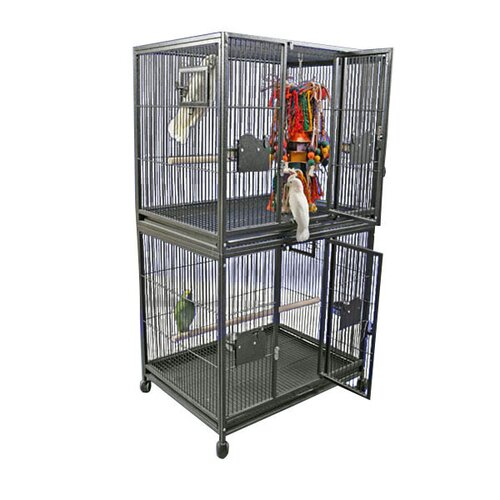 A&E Cage Co. Large Double Bird Cage