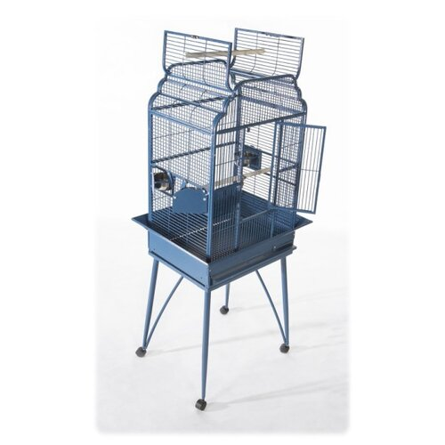 A&E Cage Co. Small Victorian Top Welded Bar Design Bird Cage