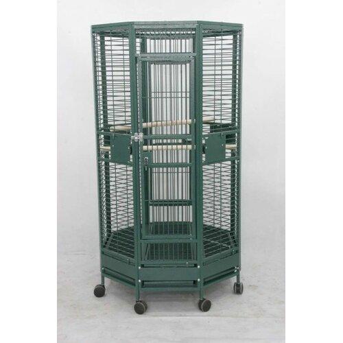 A&E Cage Co. Medium Octagon Bird Cage