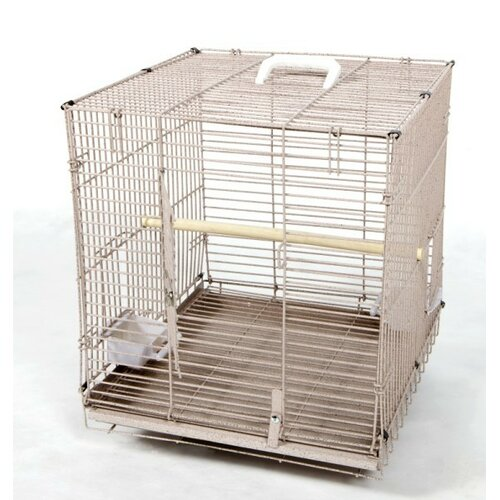 A&E Cage Co. Folding Travel Carrier  Bird Cage