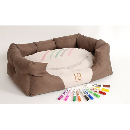 Picasso Pooch Bolster Dog Bed