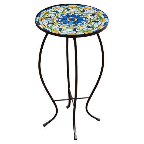 Evergreen Flag & Garden Tiffany-Inspired Vine Side Table