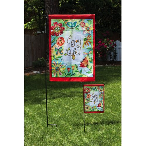 Field of Flowers 2-Sided Vertical Flag