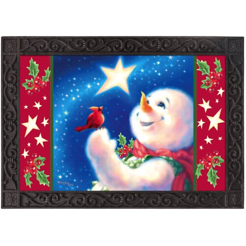Sublimated Frosty Magic Floormat