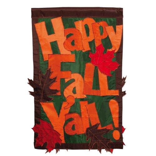 Happy Fall Y'all 2-Sided Garden Flag