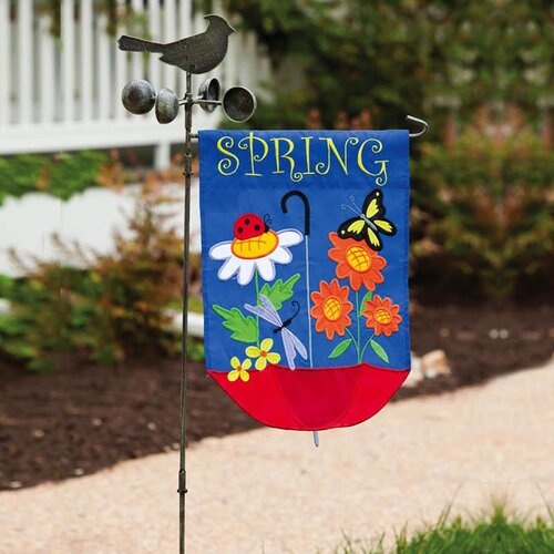 Evergreen Flag & Garden Spring Showers Garden Flag