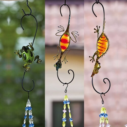 Lizards and Frog Plant Hanger (Set of 3)