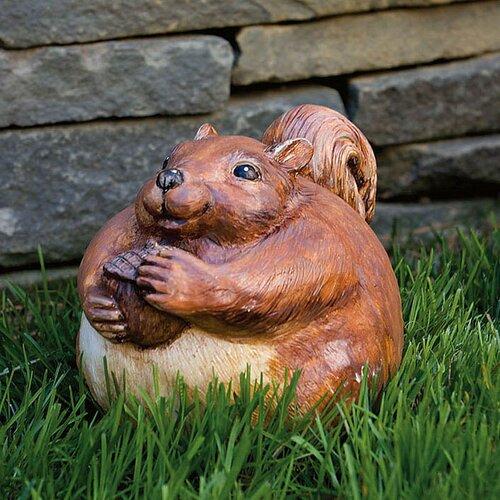 Evergreen Flag & Garden Portly Squirrel Statue