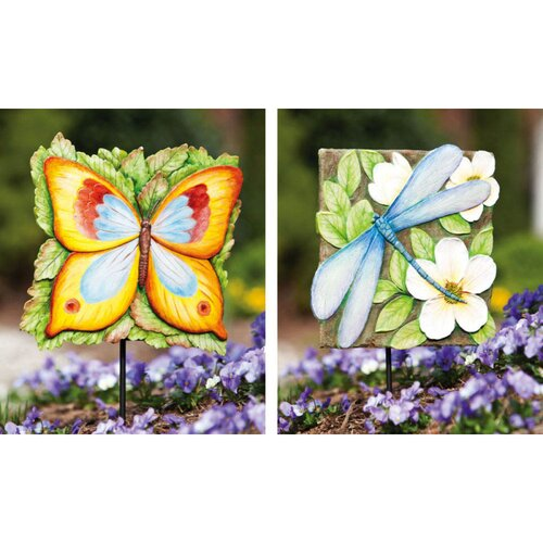Garden Friends Garden Stake (Set of 2)