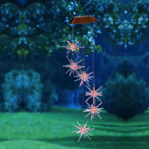 Starburst Solar Mobile Wind Chime