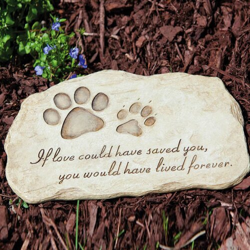 Pet Devotion Stepping Stone