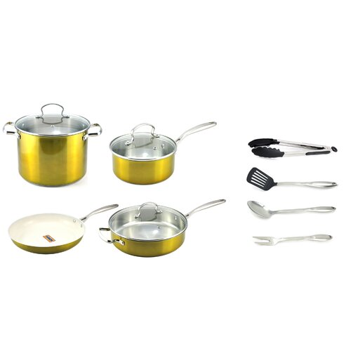 11 Piece Cookware Set