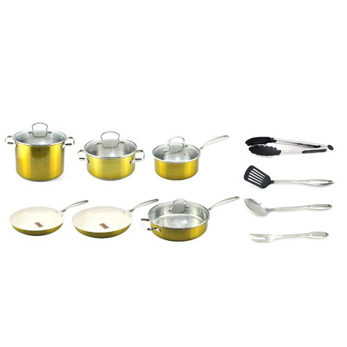 14 Piece Cookware Set