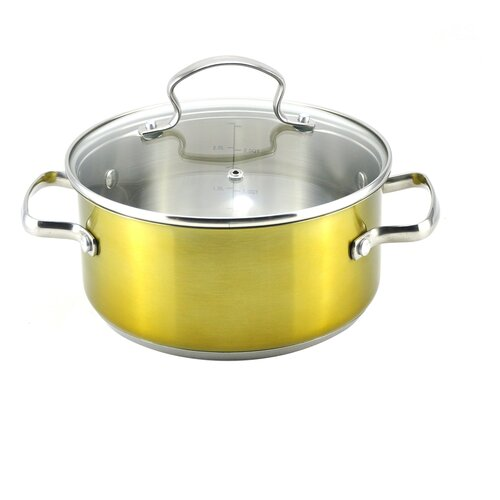 3-qt Stock Pot with Lid