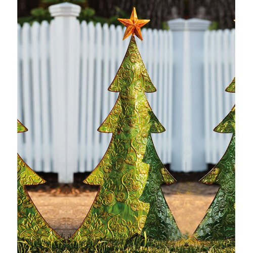 Holiday Shine Tree Statue Christmas Decoration
