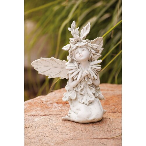Forest Fairy Kneeling Statue