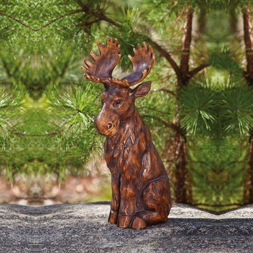Forest Friends Woodland Creatures Moose Statue