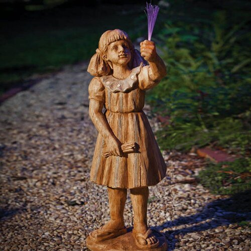 Girl with Sparkler Statue