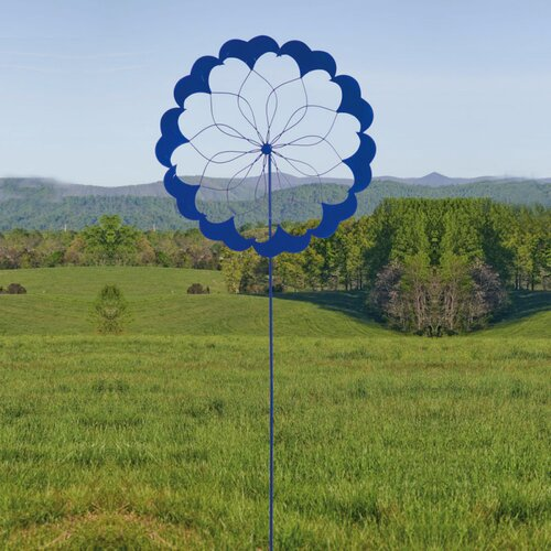 Blooms, Kinetic, Ocean Flow Garden Stake