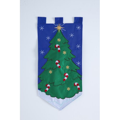 Cypress Home Candy Cane Christmas Door Hanger