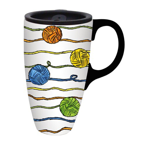 Cypress Home Life with a Cat Travel Latte Mug