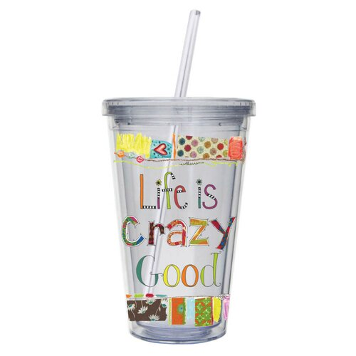 Cypress Home Wonderfully Quirky Insulated Cup