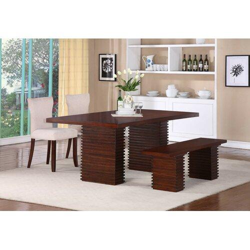 Progressive Furniture Inc. Hightower Wood Kitchen Bench Column