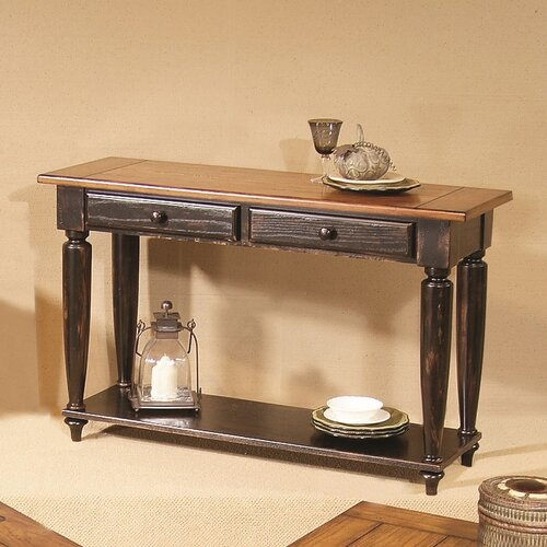 Progressive furniture country vista console table for Furniture 2 day shipping