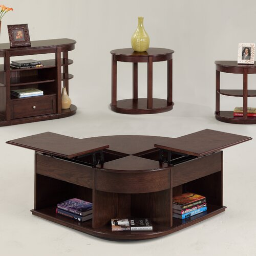 Progressive Furniture Sebring Coffee Table With Double Lift Top Reviews Wayfair