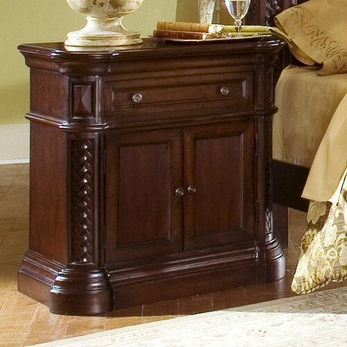Progressive Furniture Inc. Marlestone 1 Drawer Nightstand