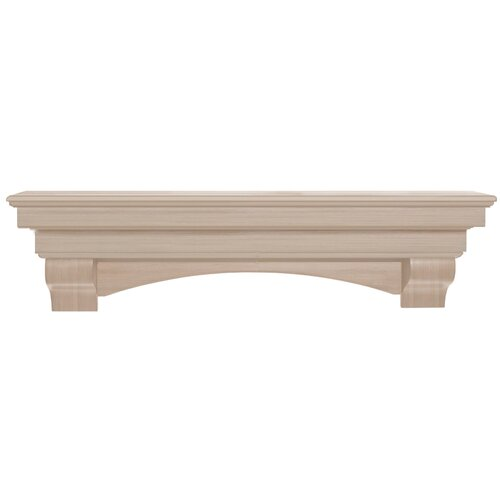 Pearl Mantels Auburn Fireplace Mantel Shelf