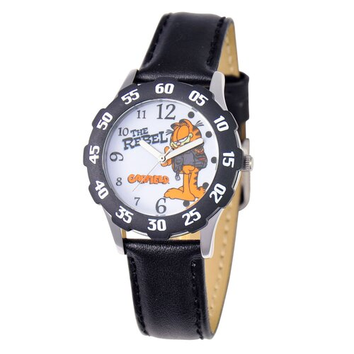 Garfield Tween Time Teacher Leather Strap Watch