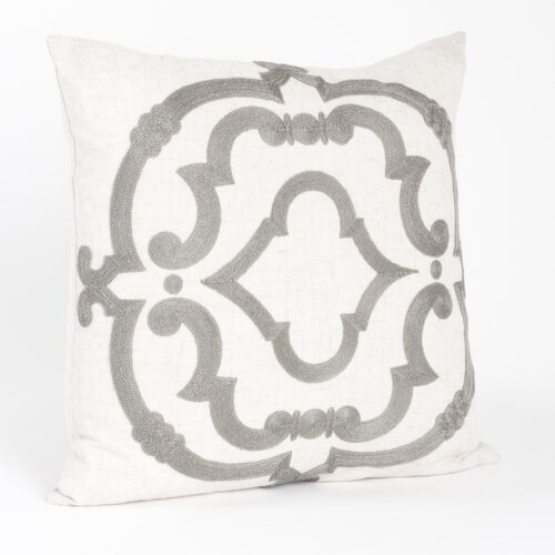 Rue Serret Embroidered Design Pillow