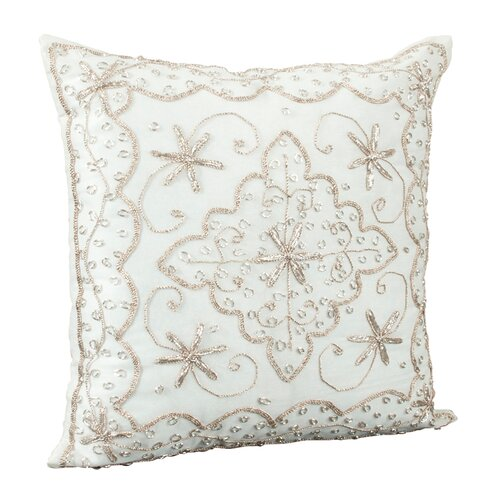 Saro Polyester Pillow Cover