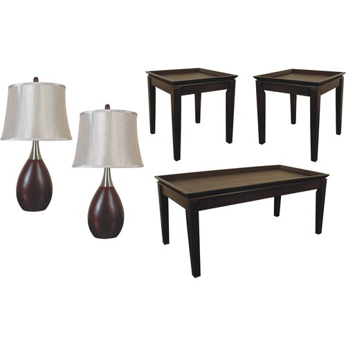 sofab Scottsdale 5 Piece Coffee Table Set