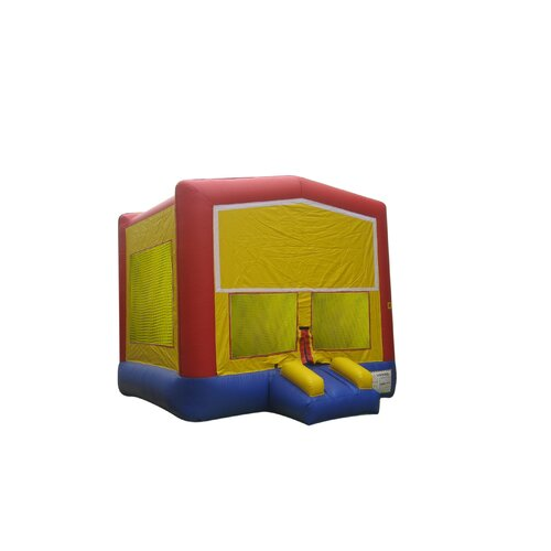 Rainbow Commercial Grade Inflatable Bouncy House