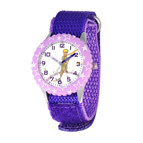 Little Prince Kid's Time Teacher Stars Bezel Analog Watch