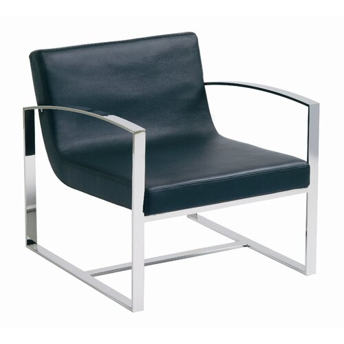 Nuevo Corbin Lounge Chair in Black