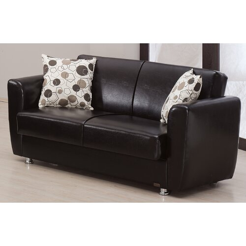 Beyan Signature Queens Convertible Loveseat